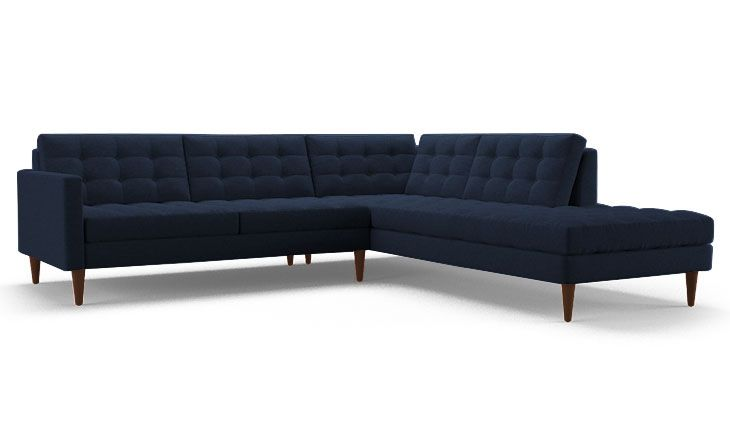 Eliot Sectional with Bumper (2 piece) by Joybird