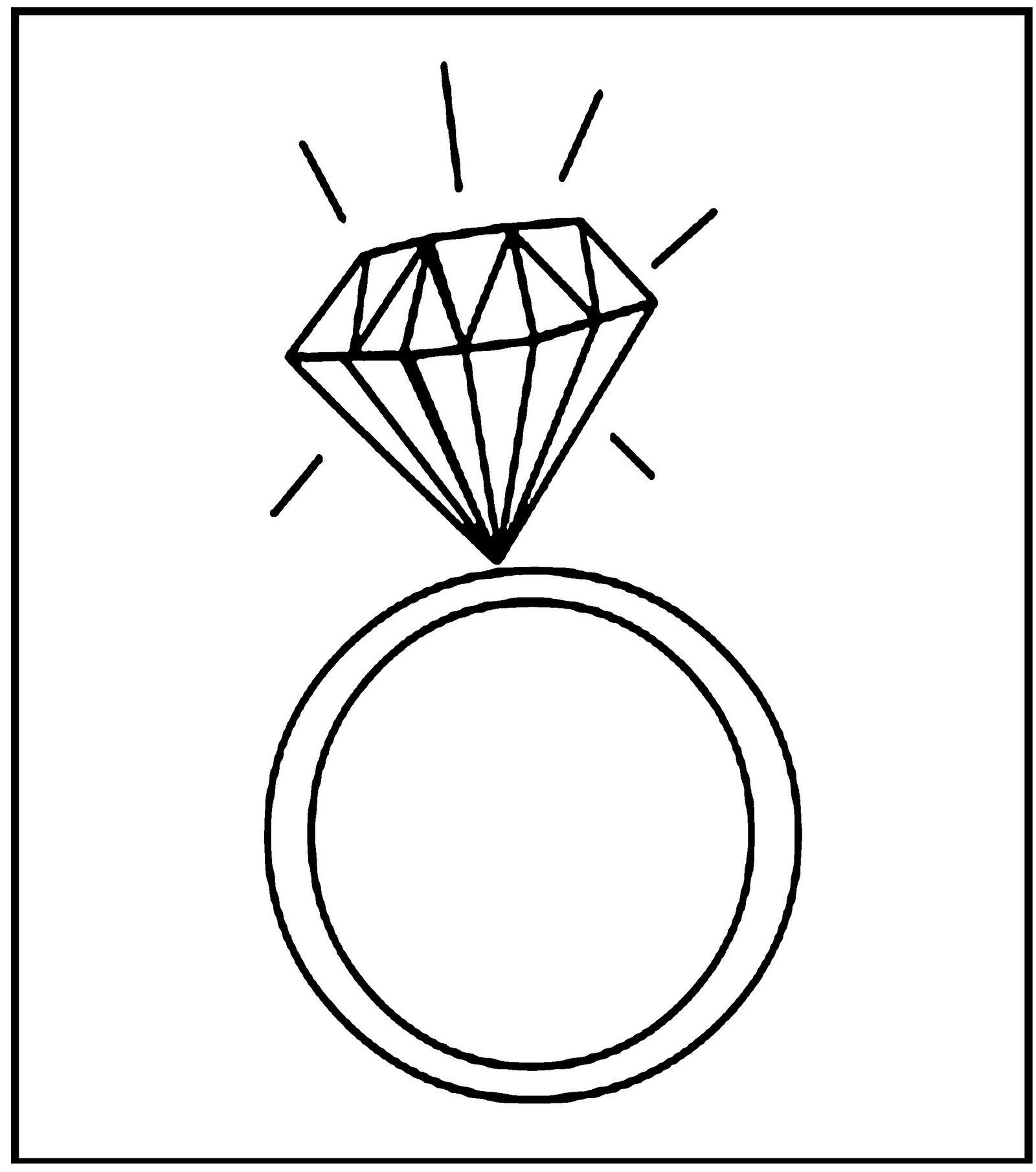 Ring Jewelry Coloring Sheet Blue Wedding Rings Wedding Rings Sets Gold Wedding Ring Icon