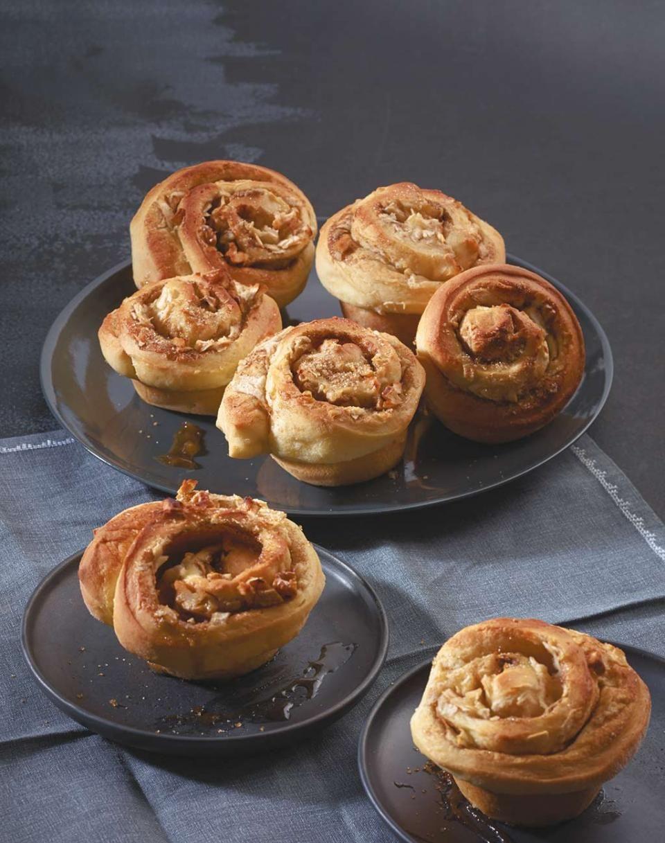 Apfel Hefe Muffins Rezept Essen Pinterest Hefe Apfel Und