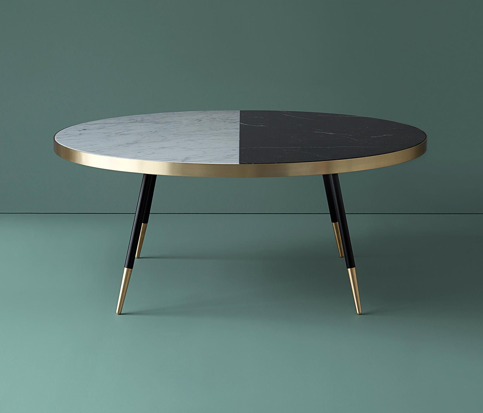 Band Marble Coffee Table Lounge Tables By Bethan Gray Architonic Wohnzimmertische Coole Couchtische Couchtisch Design