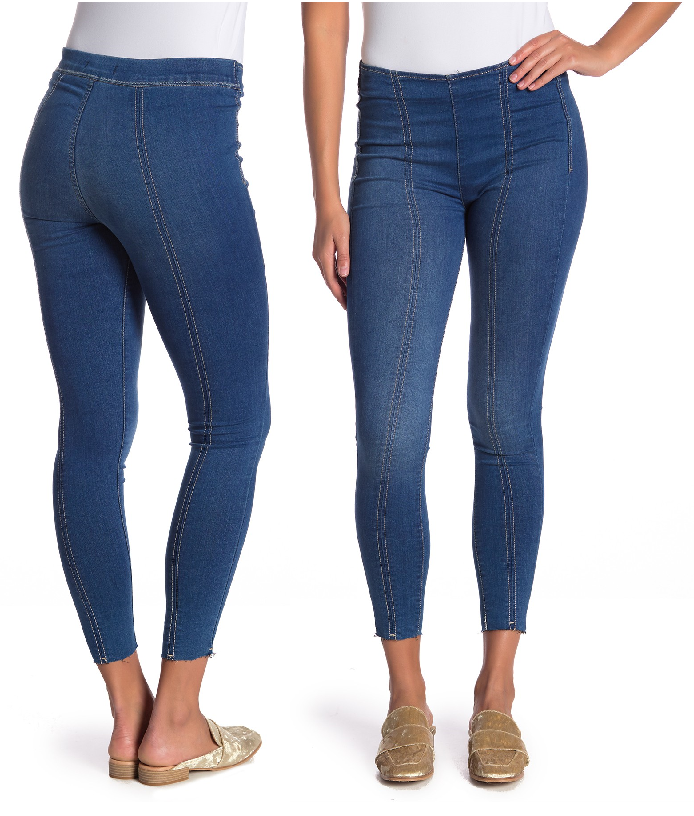 d1b12a0ae2b Free People Jean Seamed Skinny Jeans Style   OB831391