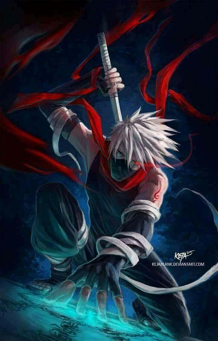 هاتاكي كاكاشي Naruto Shippuden Sasuke Kakashi Anbu Kakashi