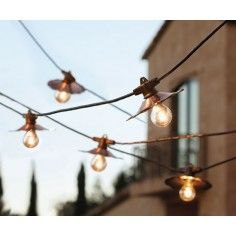 Cafe d'Or Globe Lights
