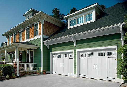 Making An Entrance Garage Door Styles Carriage Style Garage Doors Garage Doors