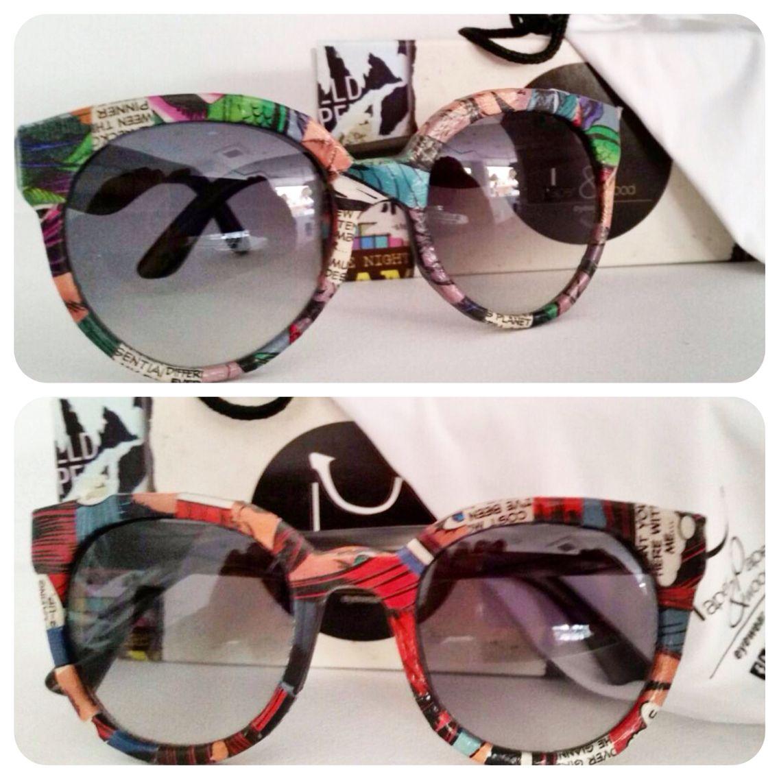 c20e42c0b9 ¡Las gafas artesanales @paperandpapereyewear son únicas e irrepetibles, no  existe ningún modelo igual a otro! ¿Buscas algo diferente?