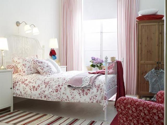 red cottage bedroom - Google Search Amanda\u0027s Room Pinterest - schlafzimmer landhausstil ikea