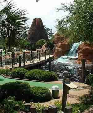 Climb The Rock Wall Splash Down A Waterfall Or Enjoy Lots Of Other Attractions Like Go Kartini Golf At Adventure Island In Nearby Orange Beach Al