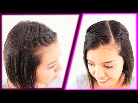 Diadema Sostenida Pull Back Headband Peinados Faciles Y