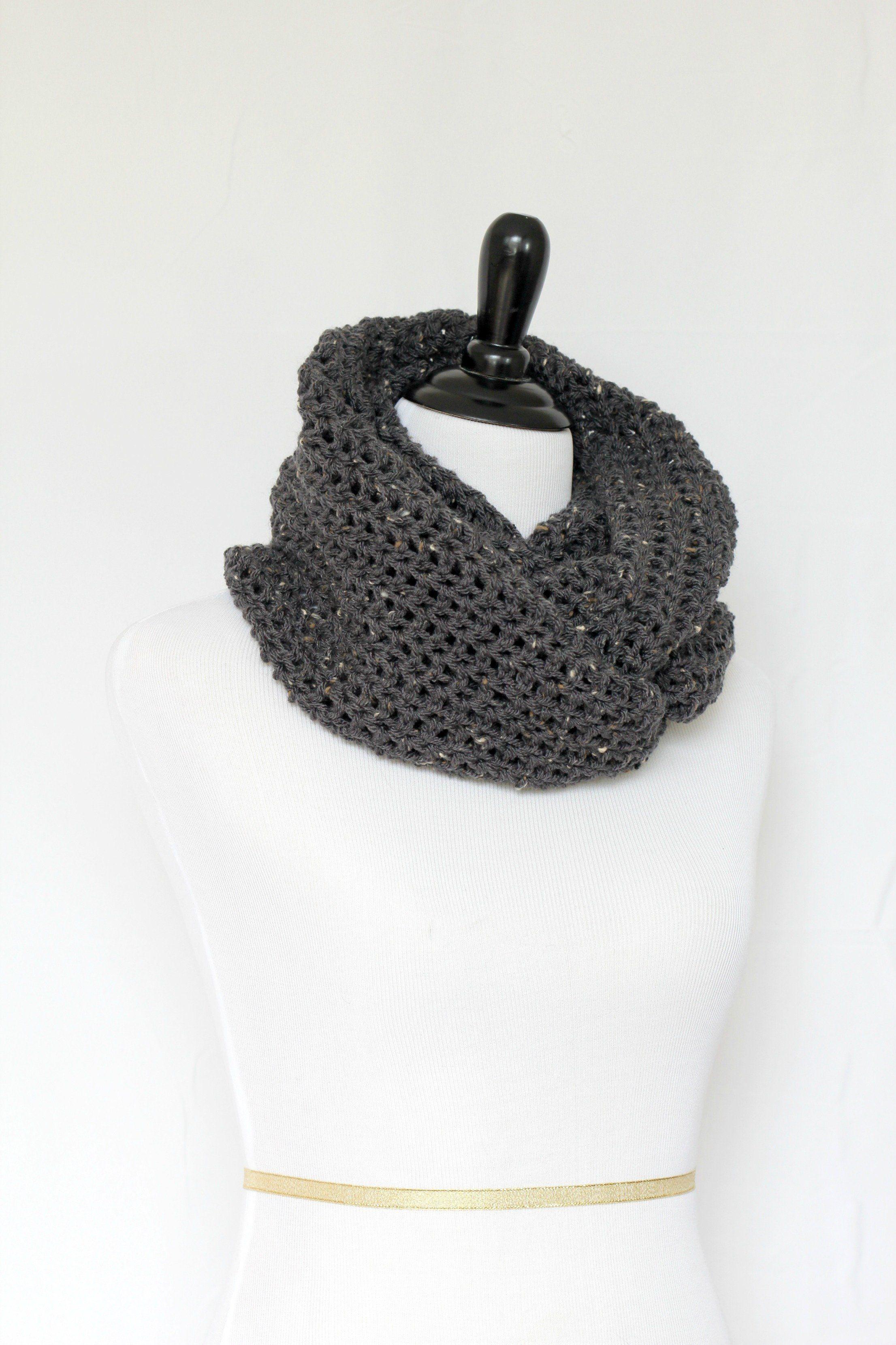 mm grey lafleur shop packshot infinity scarf rye