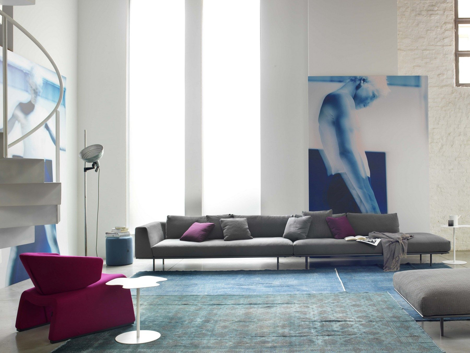 DAKOTA 5 seater sofa by Bontempi Casa design Carlo Bimbi