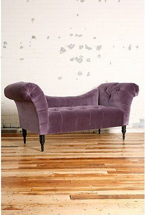 fainting sofa purple best mattress pad for bed antoinette in aubergine oh yeah etc pinterest