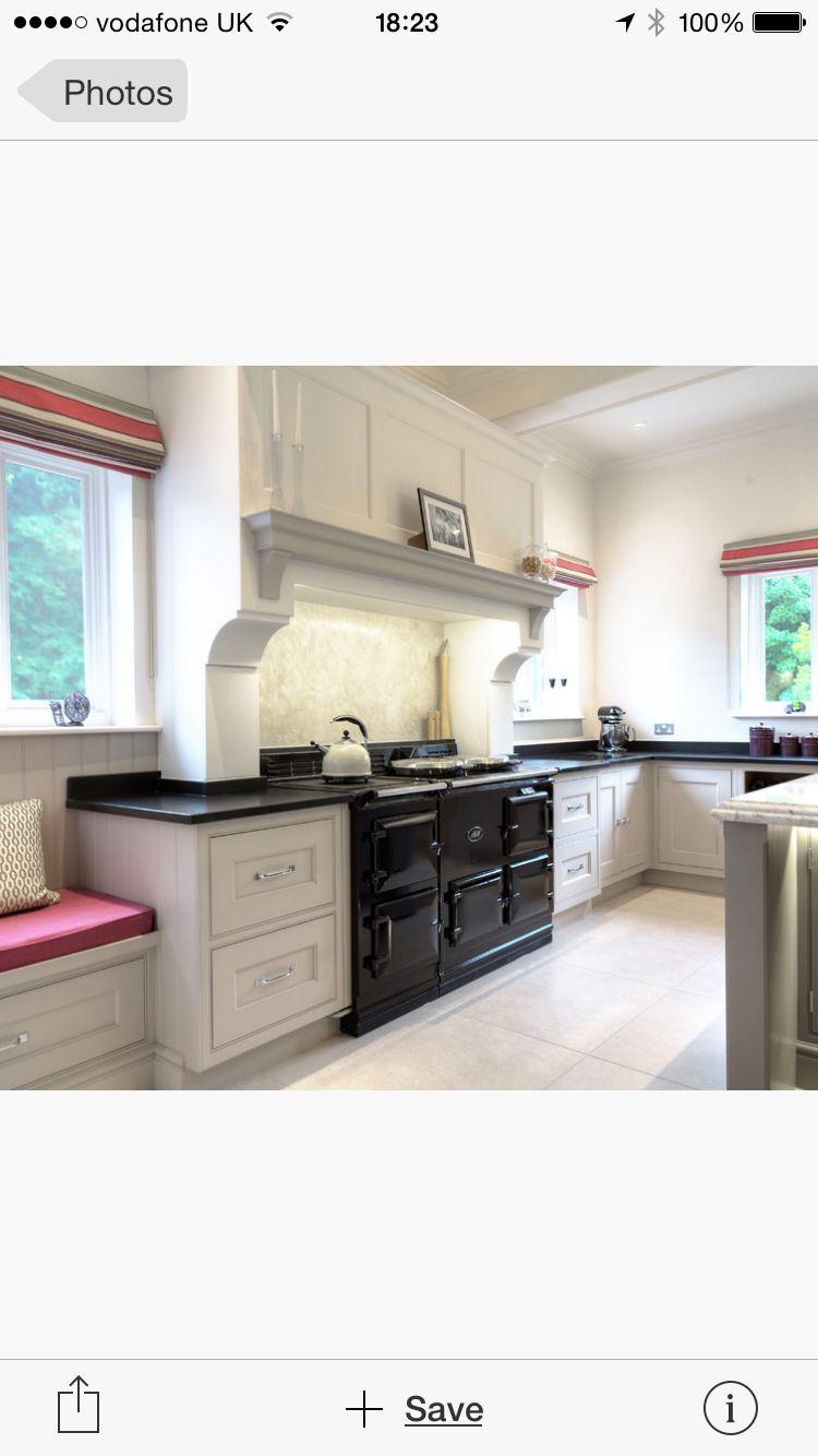Aga surround   Kitchen   Pinterest   Aga, Kitchens and Cooker hoods