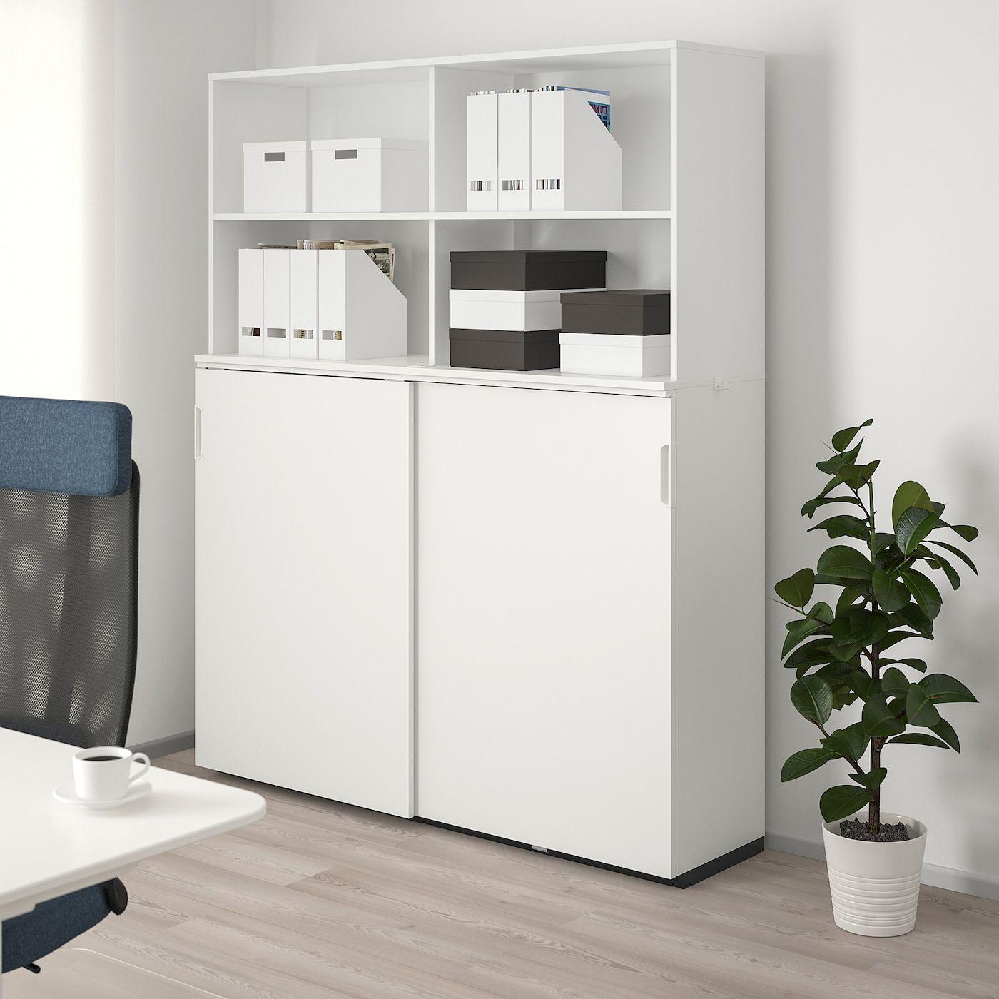 IKEA GALANT Storage combination with sliding doors