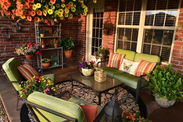 11 Stunning Patio Ideas For Under Decks Home Decor Outdoor Living Repurposing Upcycling Cheery Colorful Via Kristen S Creations