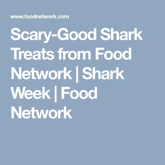 Scary-Good Shark Treats