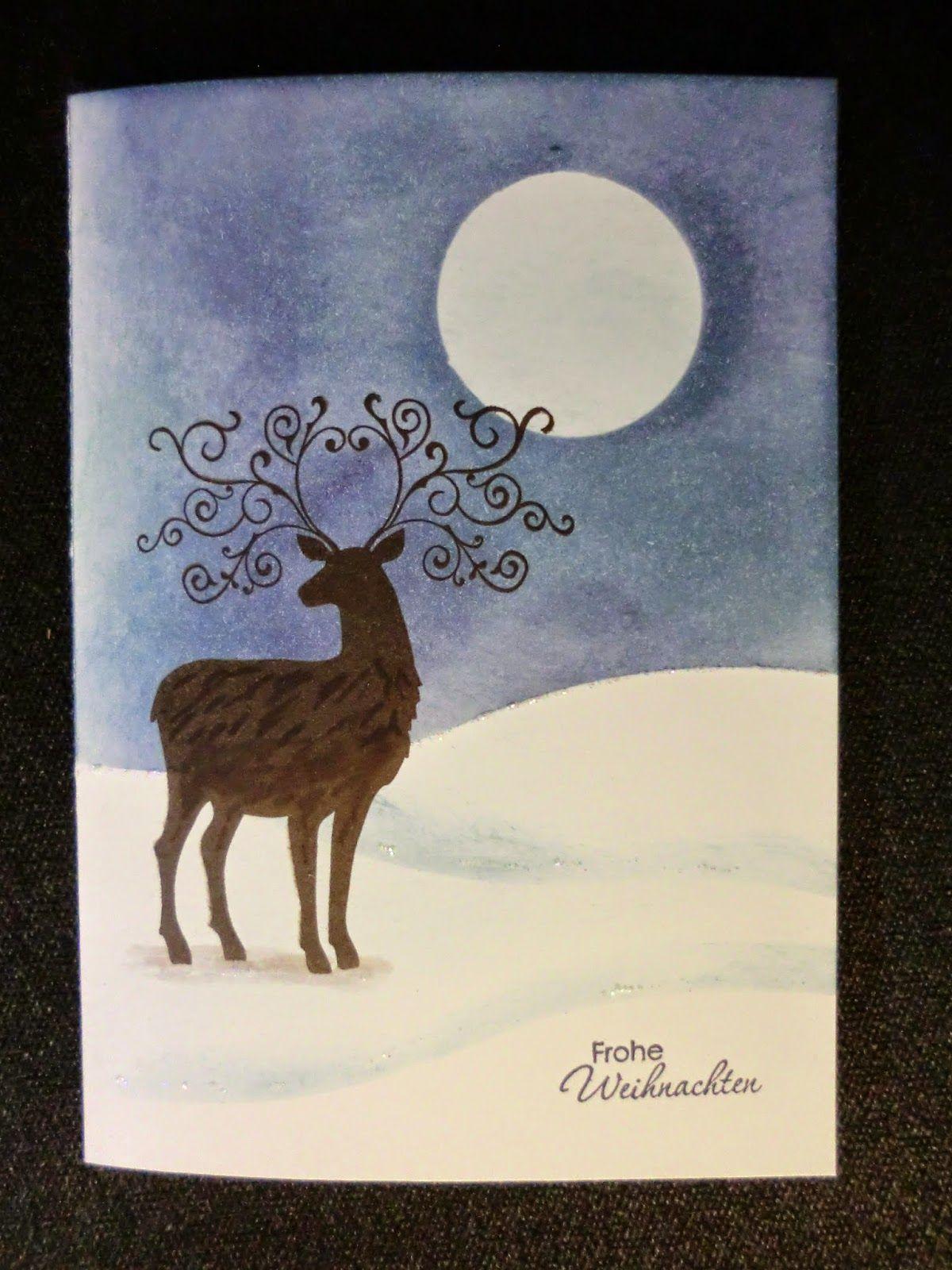 Kreatives Herzerl: zwei meiner Weihnachtskarten ...
