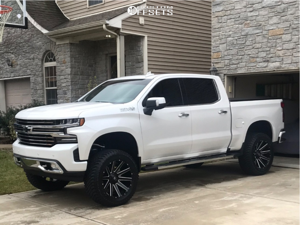 1 2019 Silverado 1500 Chevrolet Zone Suspension Lift 6in Fuel