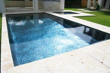 iridescent black glass tile
