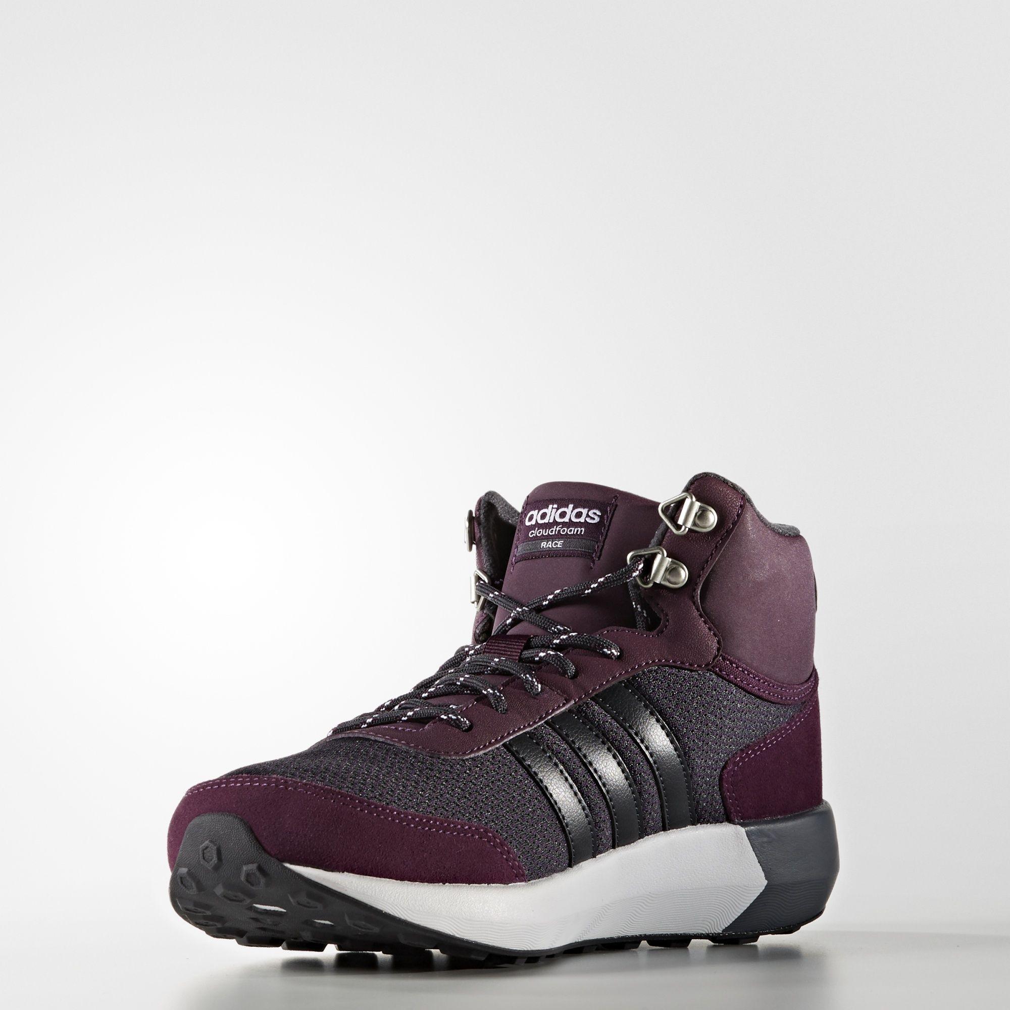 Coureur Mousse Nuage Adidas Mi Chaussures D'hiver 6KbdJd