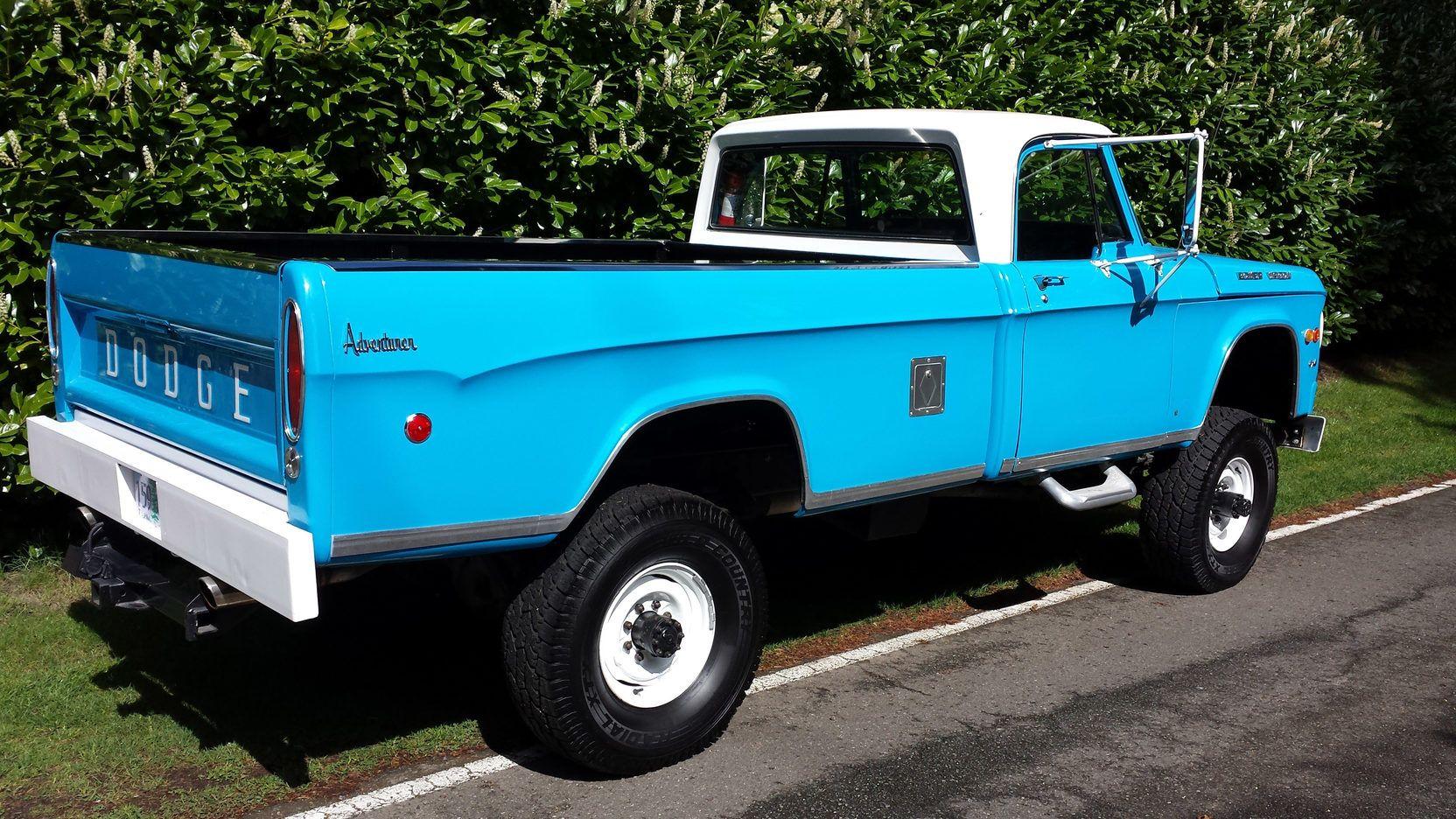 1969 Dodge W200 318 Ci 4 Speed Lot F160 Seattle 2015 Mecum