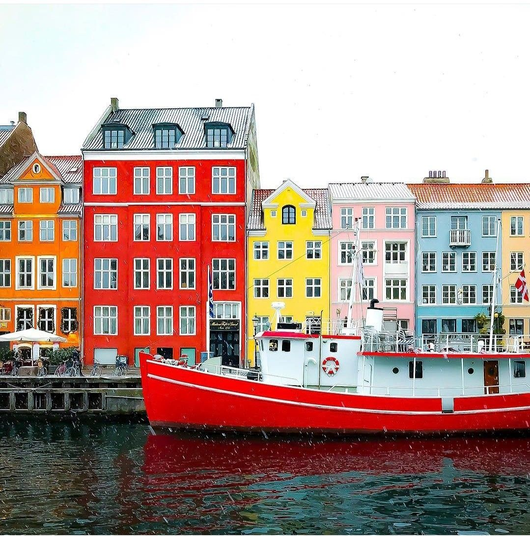 Price Alert: #Copenhagen! Roundtrip is in the $300s for winter travel from Boston, Los Angeles, San Francisco, and more and in the $400s for New York, San Jose, and more! Find your deal From Our App Link In Bio #travel #travelphotography #traveltheworld #europe #color #cheapflights