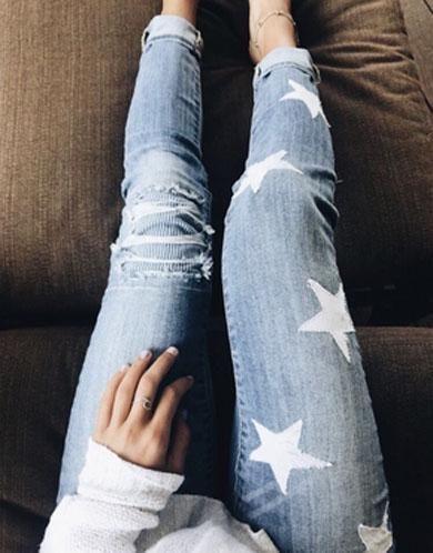 LETITIA star skinny jeans