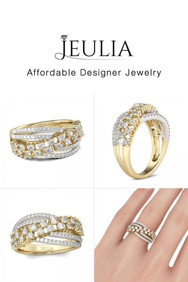 Check This Out From Jeulia Jeulia Crossover Sterling Silver