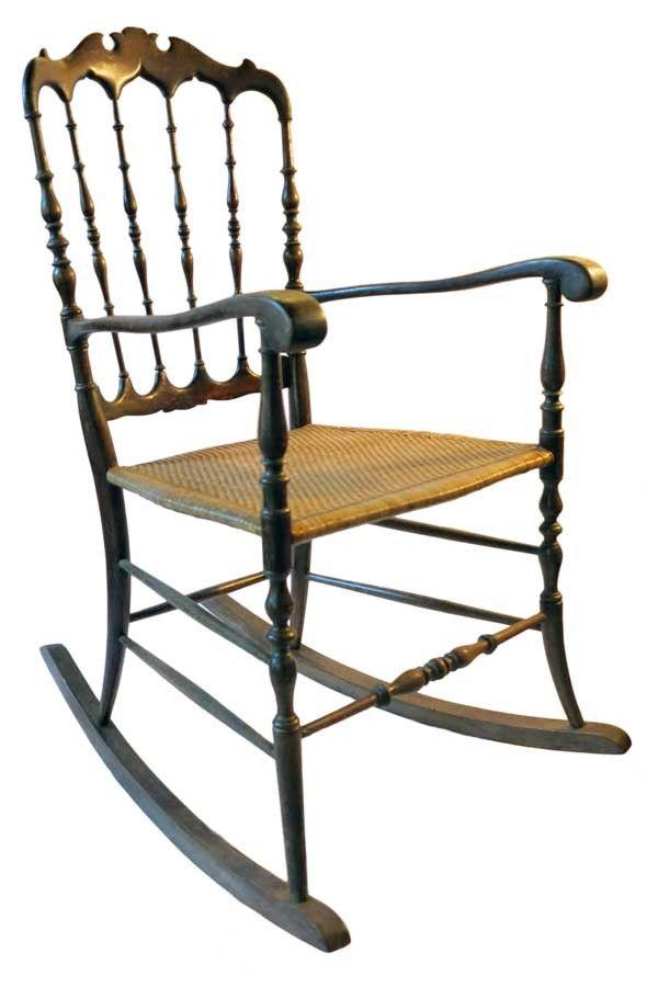 Cheap chiavarina rocking chair parigina original brended ucfratelli italy with sedia a dondolo - Poltrona a dondolo di design ...