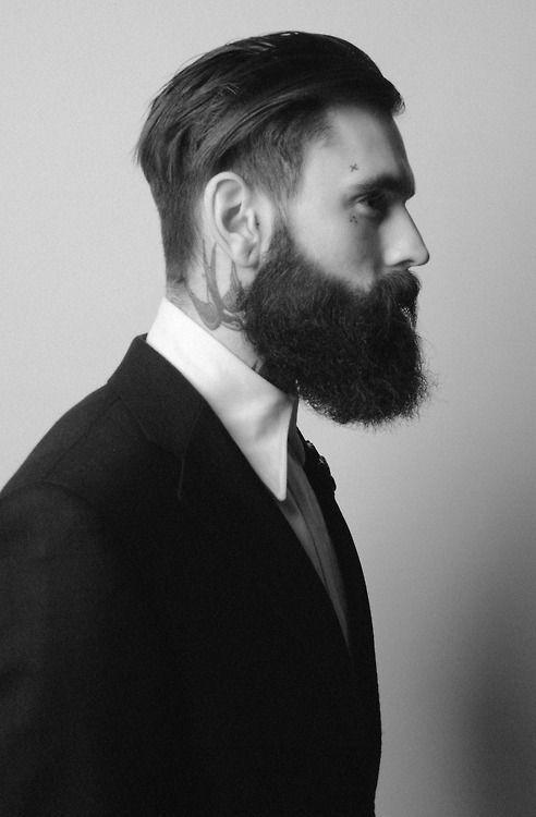 Men S Hairstyles From 1920s 16 Min Ducktail Beard Long Beard Styles Beard Styles Images