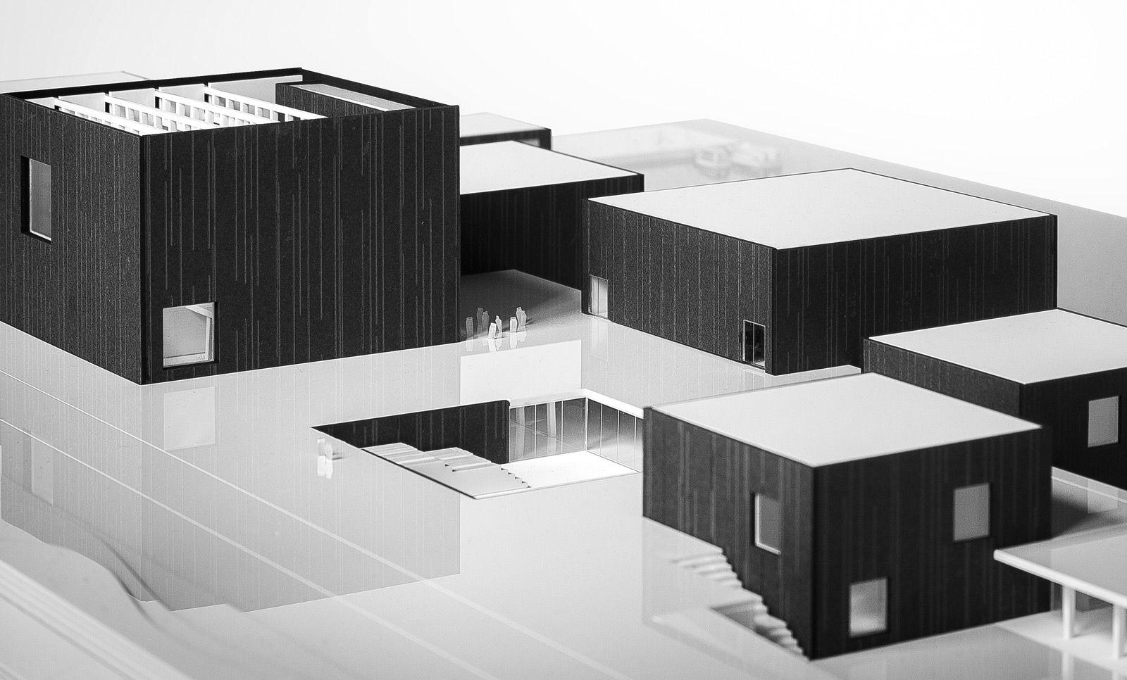 Maqueta arquitectura valencia museo fluvial en oporto for Arquitectura carrera profesional