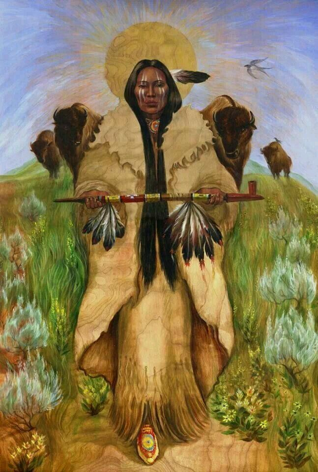mujer bufalo