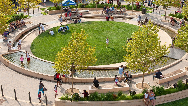 Uptown Normal Park Landscape Urban Landscape Landscape Architect