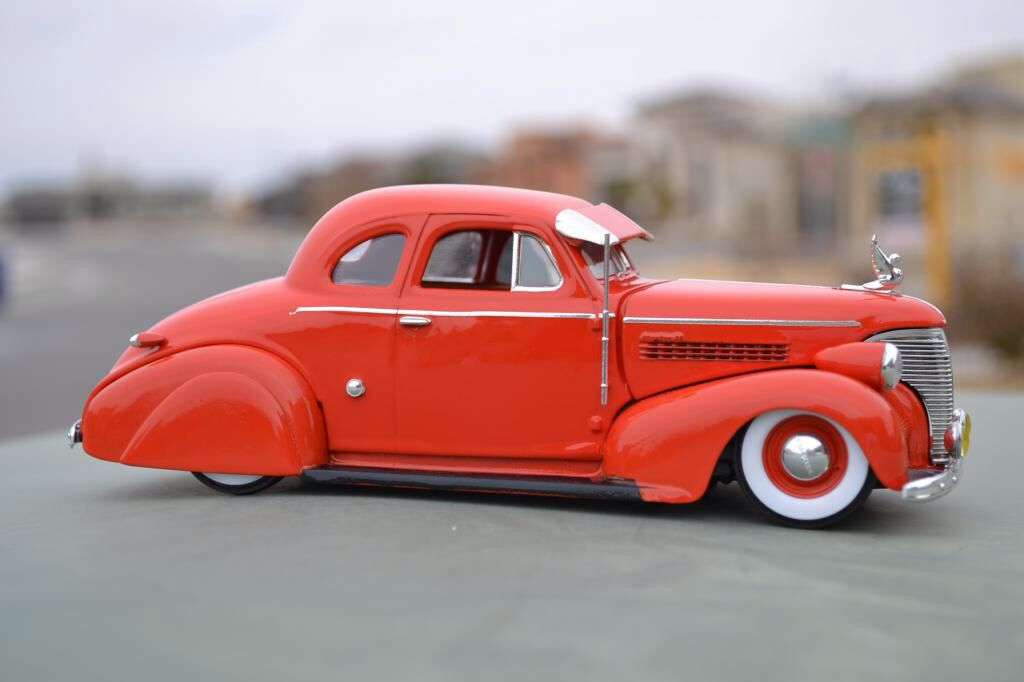 1939 Chevy Coupe Bomb Model Cars Kits Plastic Model Cars Scale Models Cars