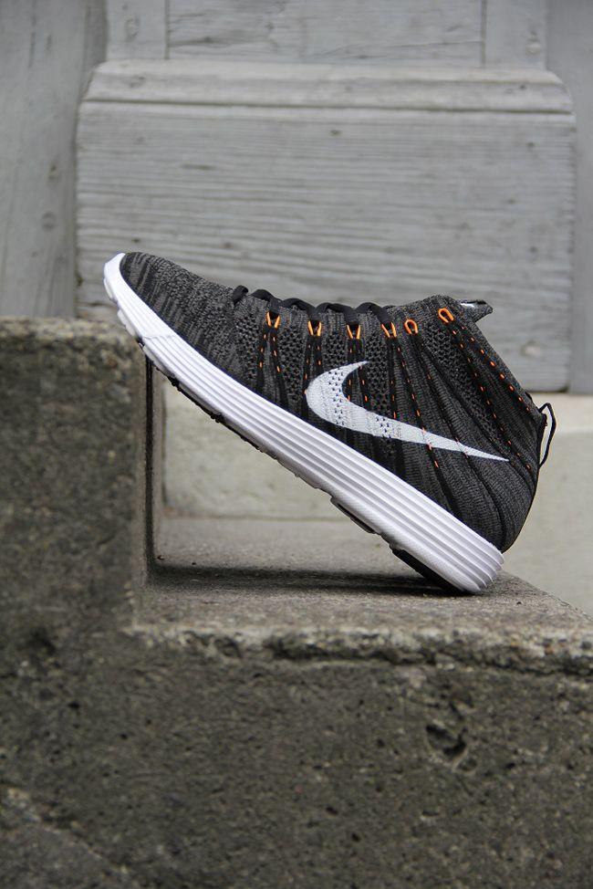 d79388d538995c Nike Lunar Flyknit Chukka  Midnight Fog  amp  Total Orange Nike Water  Shoes
