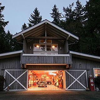 Instagram Photo By Modern Day Hot Rods Jun 13 2016 At 6 23pm Utc Cottage House Exterior Garage Apartment Plans Dream Garage