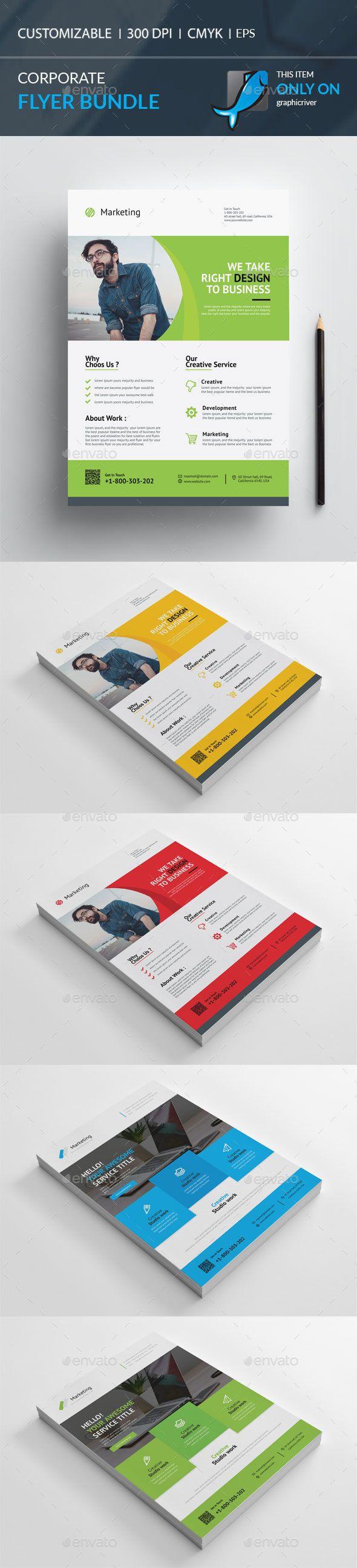 #Flyer Bundle - Corporate Flyers Download here: https://graphicriver.net/item/flyer-bundle/19582732?ref=alena994