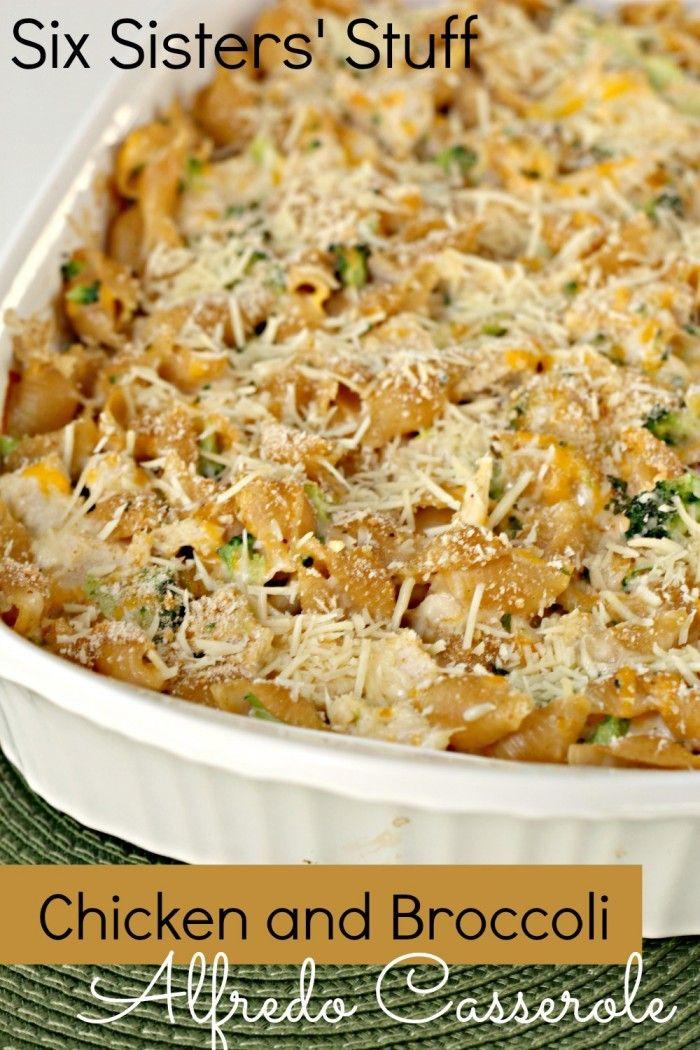 Chicken And Broccoli Alfredo Casserole Recipe  Broccoli -9358