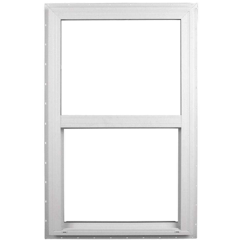 Ply Gem 35 5 In X 59 5 In Single Hung Vinyl Window White 510