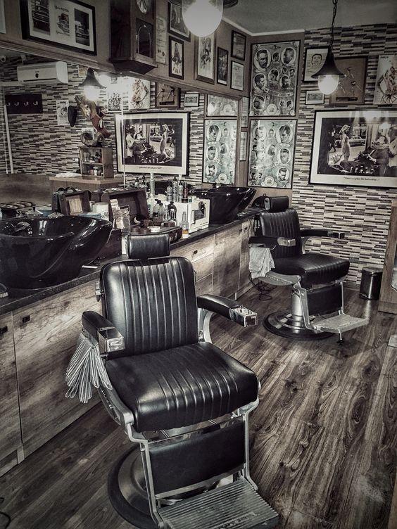 Barber Decor Chairs Design Ideas Chair Vintage Beauty Salon Interior