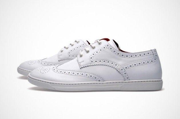 Junya Watanabe Man and Tricker's Wingtip Sneakers