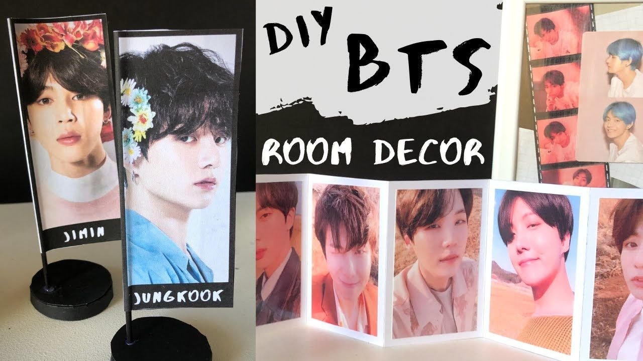 DIY BTS Aesthetic Room Decor! in 2020 | Army room decor ...