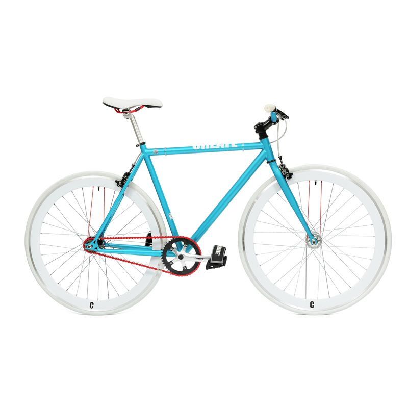 Aqua White By Create Bikes Find It At Bike Project