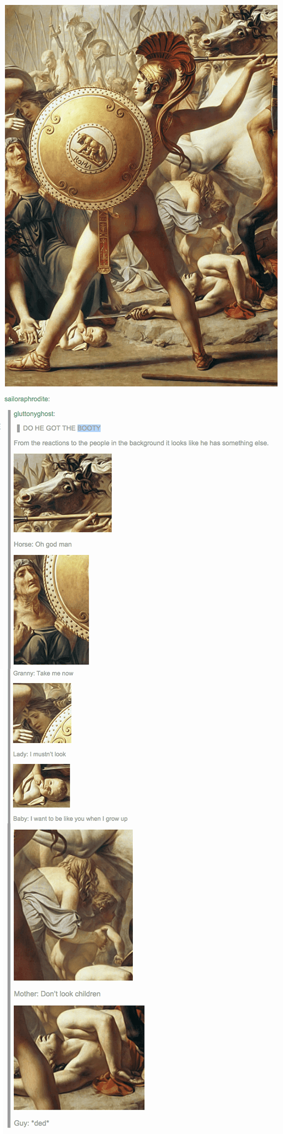 Tumblr Art History Butt Funny Pinterest Art Memes Hilarious - 27 historical works of art that are now unbelievably funny