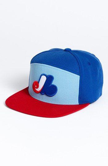 882e0d3a631 American Needle Montreal Expos - Ante Snapback Ball Cap