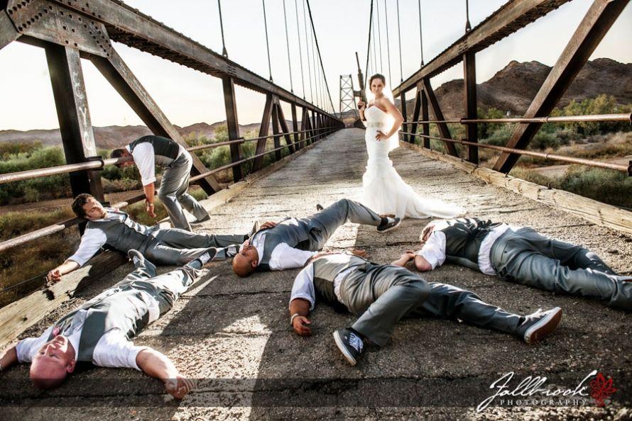 Bride Kills The Groom And Groomsmen Fun