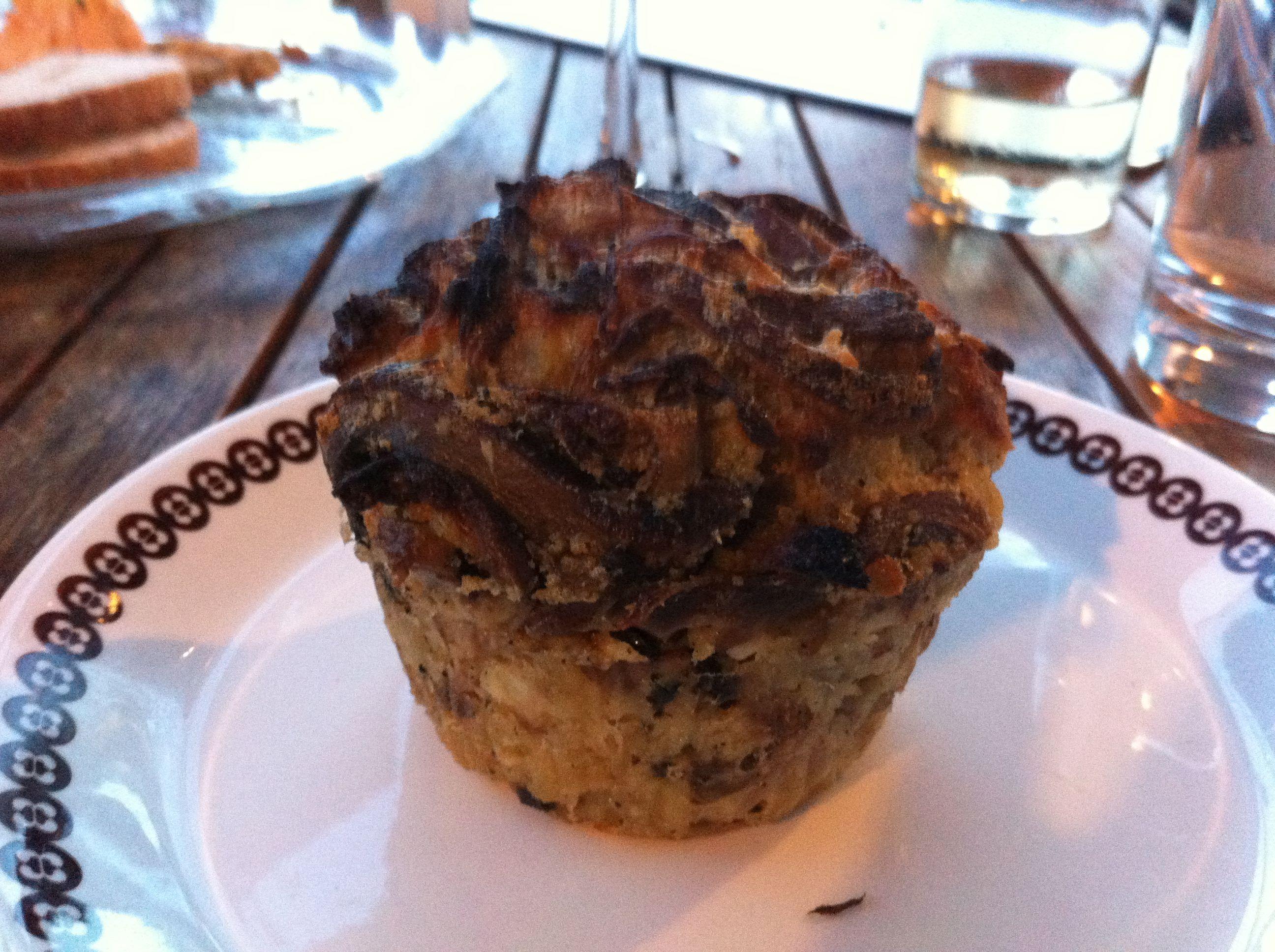 Mushroom Bread Pudding   Public House   Pinterest