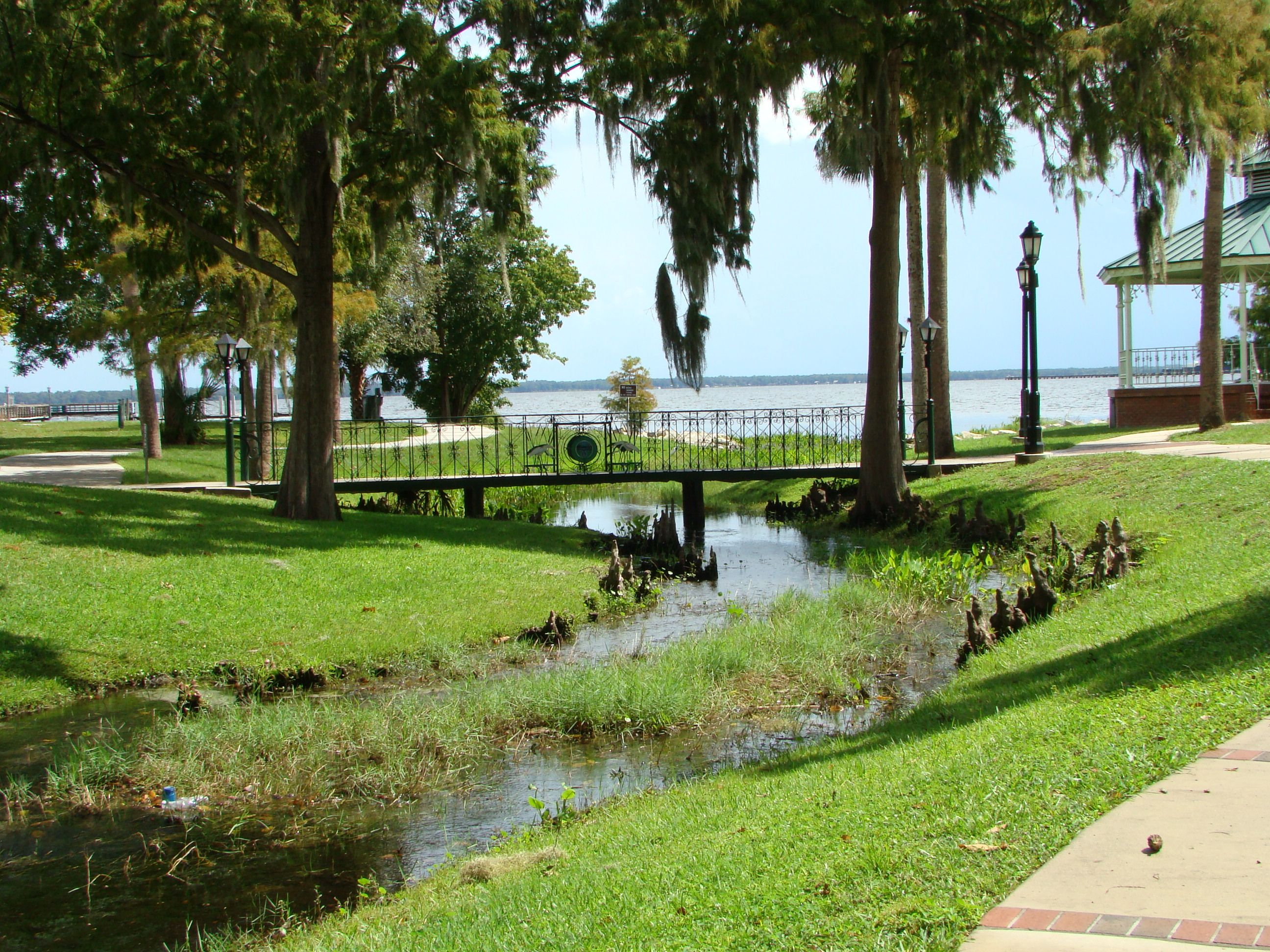The spring that leads into the St Johns River in Spring