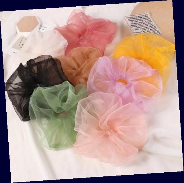 Light Color See Through Scrunchie : #pastelscrunchie # ...