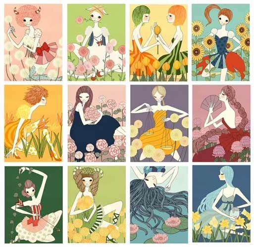 'Zodiac' all by Yoko Furusho