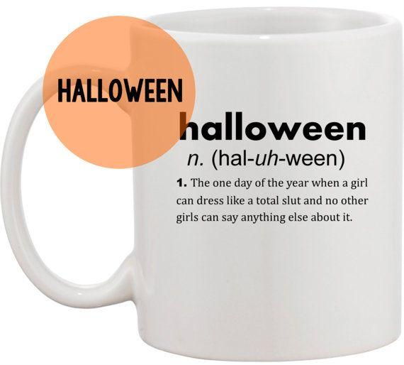 Mean Girls Halloween definition coffee mug by perksofaurora ...